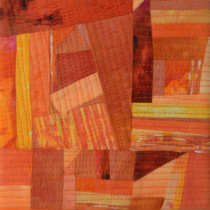 Leukemia - a medically inspired quilt by Marti Plager