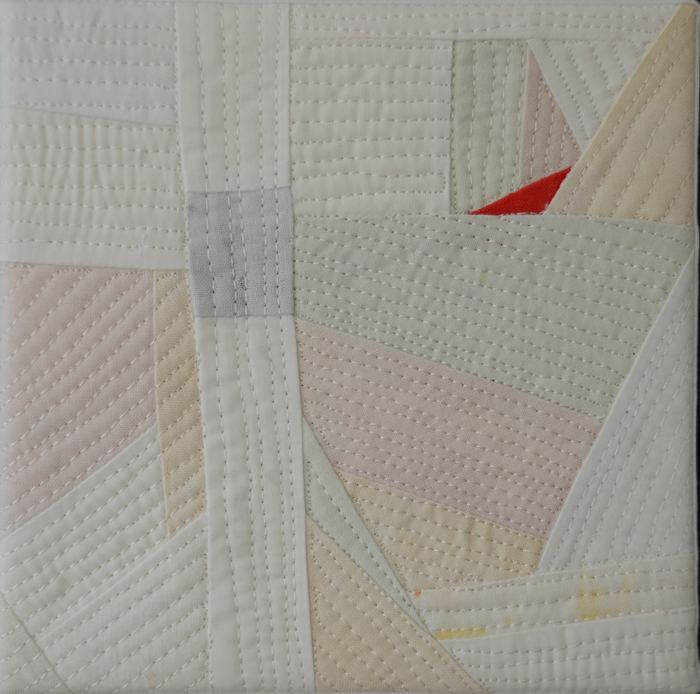 Lung Cancer quilt by Marti Plager