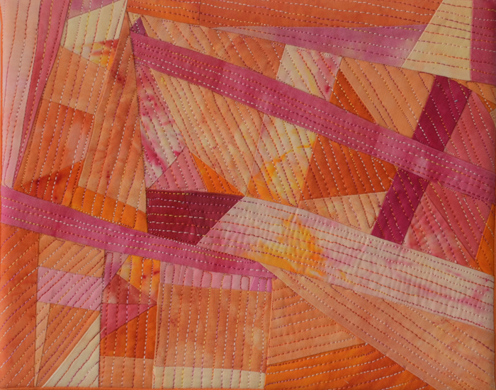 Art quilt by Marti Plager